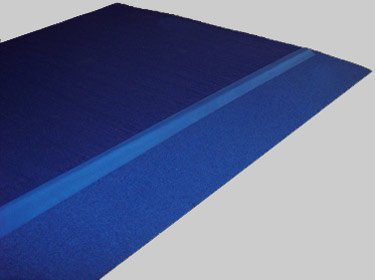 Angled Carpet Bonded Border System