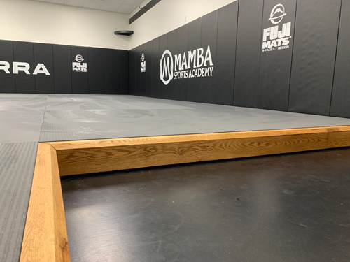 Martial Arts Flooring with Floating Base Frame