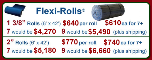 Flexi- Roll Pricing - Ask for a price with freight!