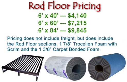 Rod Floor Pricing
