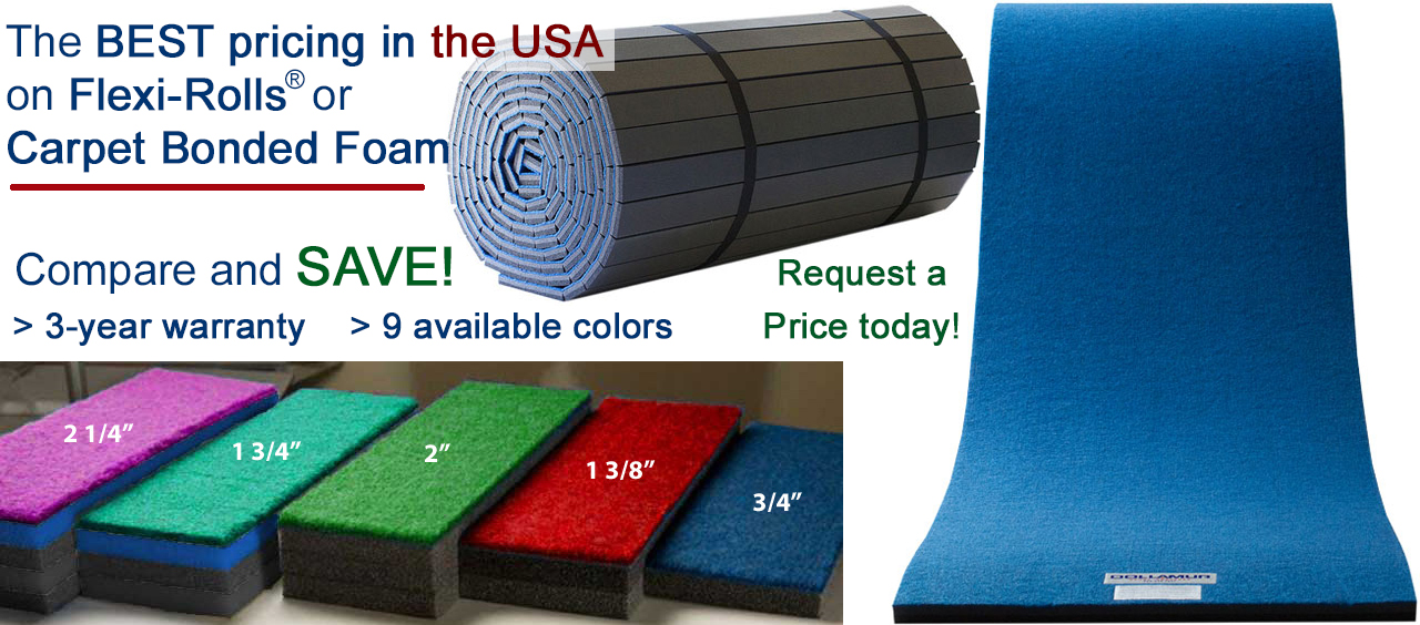 Flexi-Rolls or Carpet Bonded Foam