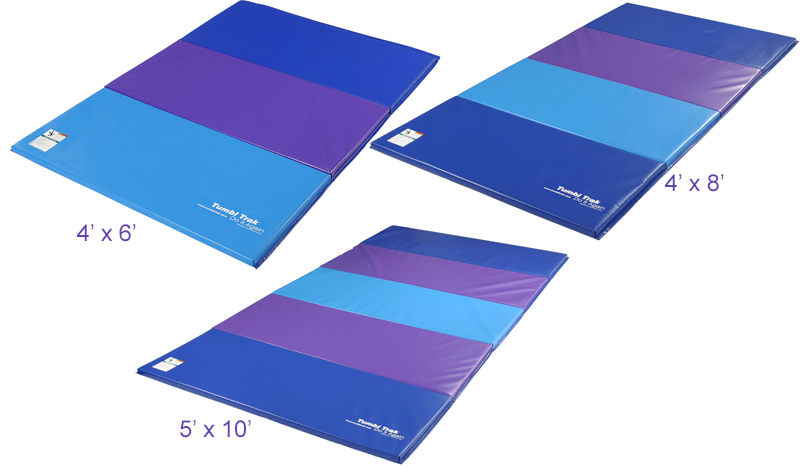 The American Gym Blueberry Panel Mat New Products Bbpm