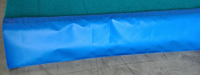 "Blue Rod Floor Skirting 12"" x 42'"