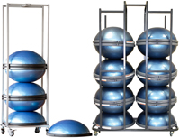 BOSU Racks and Class Quantities