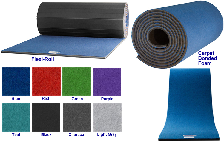 Carpet Bonded Foam or Flexi-Roll