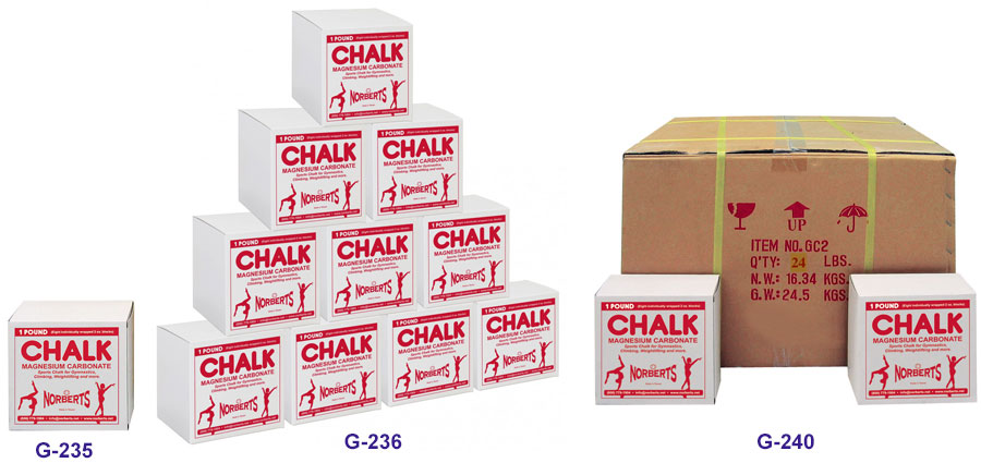 I - Chalk Blocks