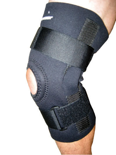 Double Hinged Knee Support
