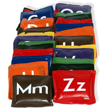 Bean Bag Set - Alphabet