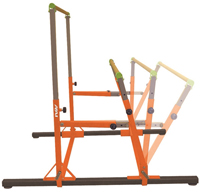 E - Elite Kids Adjustable Spreader Uneven Bars - AAI