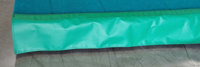 "Kelly Green Floor Skirting 9"" x 42'"