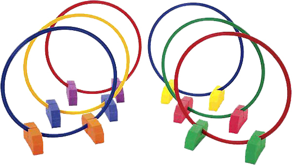 Hula Hoop Holders
