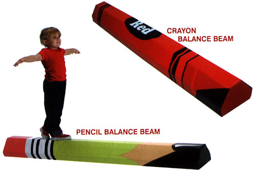 C - Crayon-Pencil Balance Beam