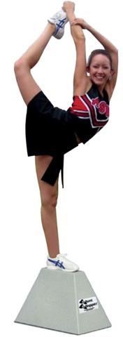 The American Gym Cheer Stunt Stepper Cheer Ss1524