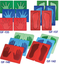 Poly Pads - Hands/Feet