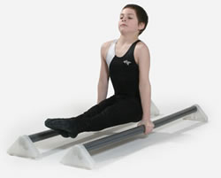C - Parallettes set of 2 -- 54""