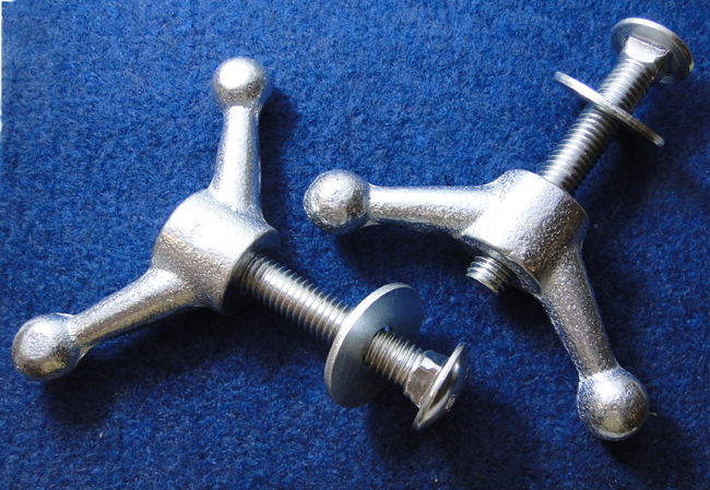 Pommel Handle Attachment Hardware